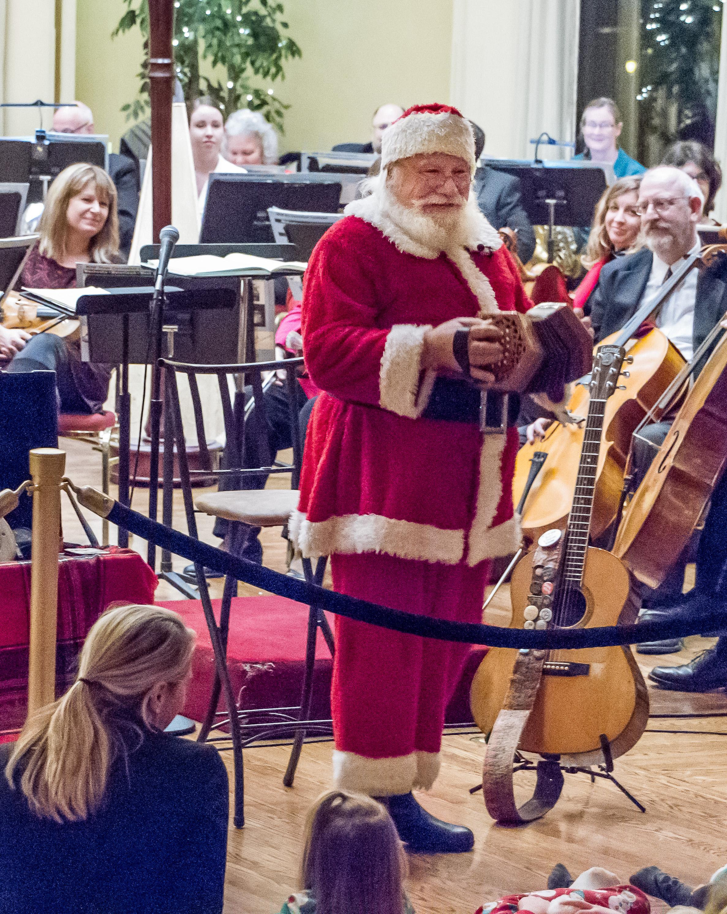 David HB Drake as Santa Claus