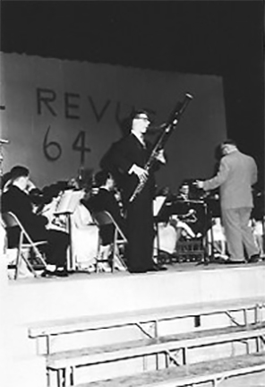 1964, age 17 soloed with HS orchestra