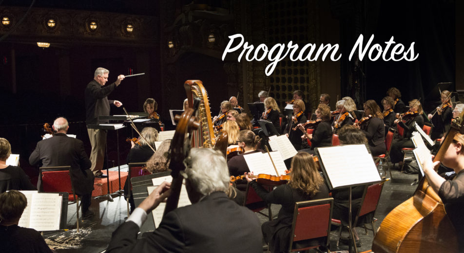 Program Notes Saints and Heroes Symphony Sundays Festival City Symphony