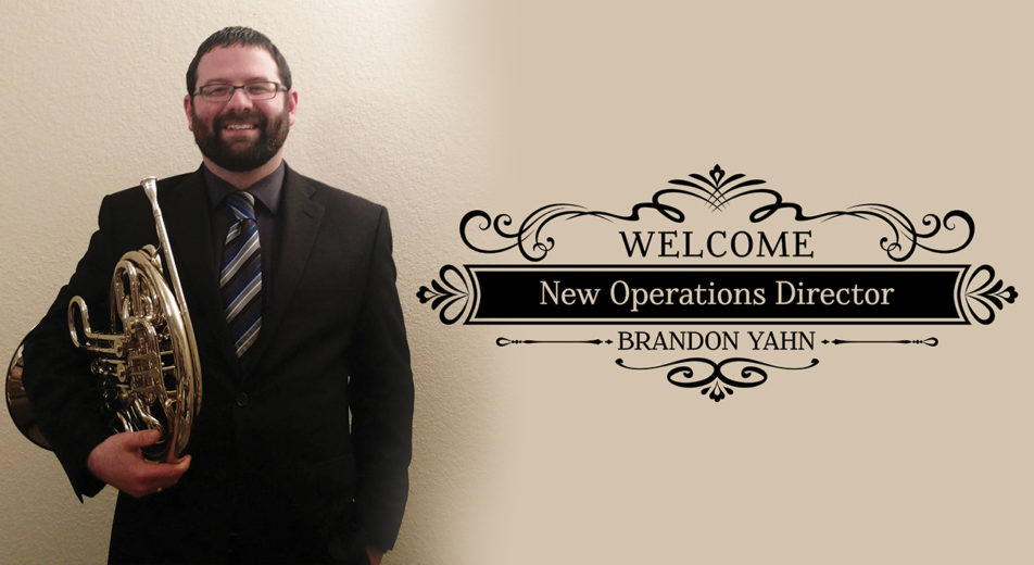Brandon Yahn Operations Director Festival City Symphony